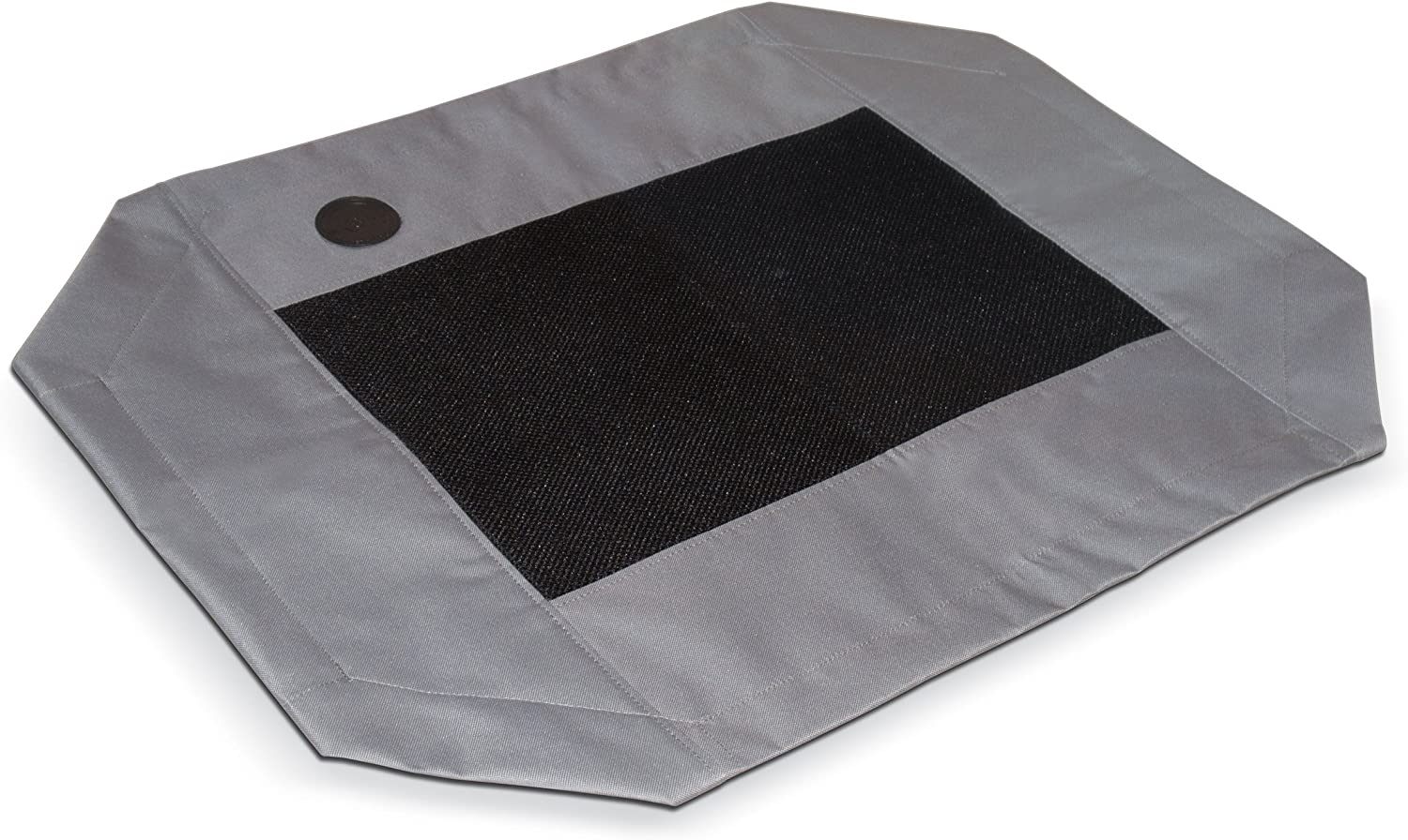 "K&H Pet Products Original Pet Cot Replacement Cover Large Gray/Mesh 30"" x 42"""