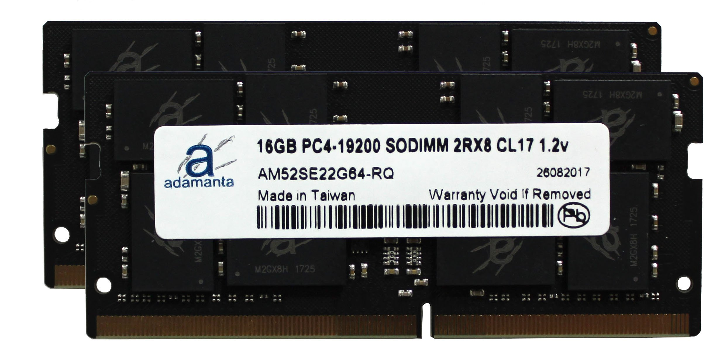Adamanta 32GB (2x16GB) Memory Upgrade for Apple iMac 2017 27'' Retina 5K Display DDR4 2400Mhz PC4-19200 SODIMM 2Rx8 CL17 1.2v Dual Rank RAM DRAM by Adamanta Memory