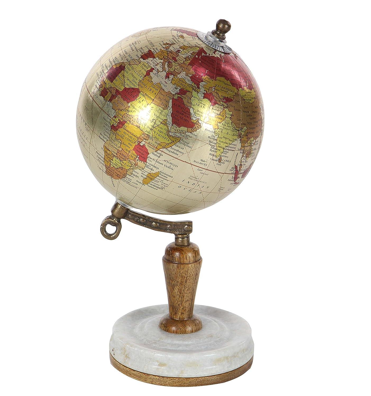 Amazon.com: Deco 79 94466 Resin and Wood Floral Decorative Globe, 15