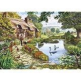 Gibsons Meadow Farm Jigsaw Puzzle, 1000 piece