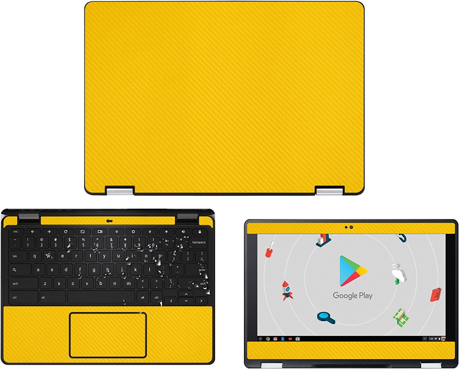 decalrus - Protective Decal for Acer ChromeBook Spin 11 R751TN / CP511 / R751T (11.6