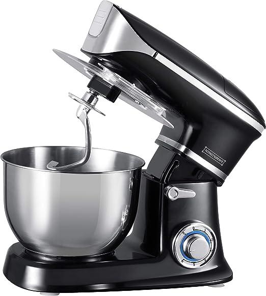 Royalty Line PKM-1900.7; Kitchen Machine 1900W Black: Amazon.es: Hogar