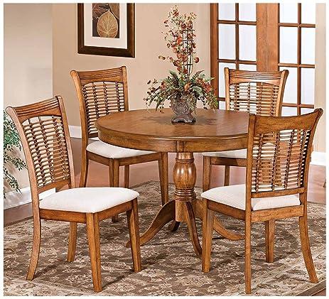 Charmant Pedestal Dining Table Set