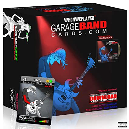 When We Played - Garage Band Cards - A Garage Band Fantasy Party Card Game  with A Bonus Soundtrack Including Tracks from an Eclectic Collection of