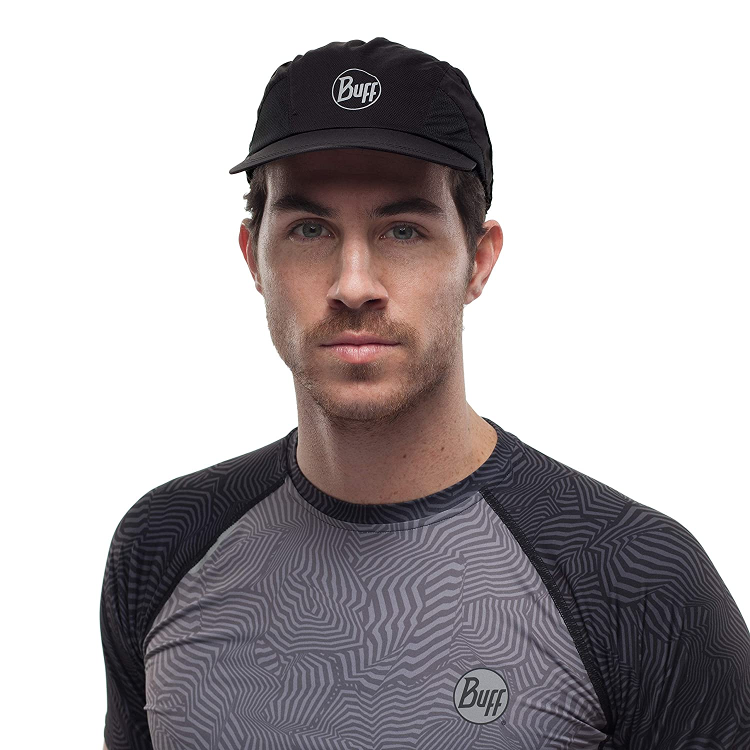 Buff R-Solid Gorra Pro Run Unisex Adulto