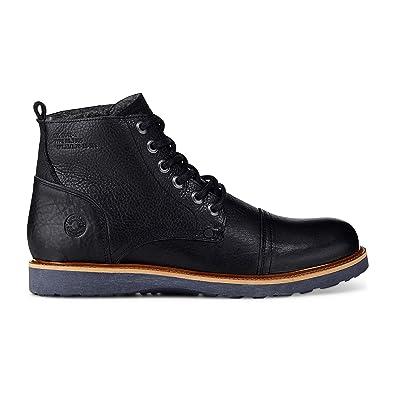 Cox Herren Herren Freizeit Boots, Leder Stiefel in Dunkel