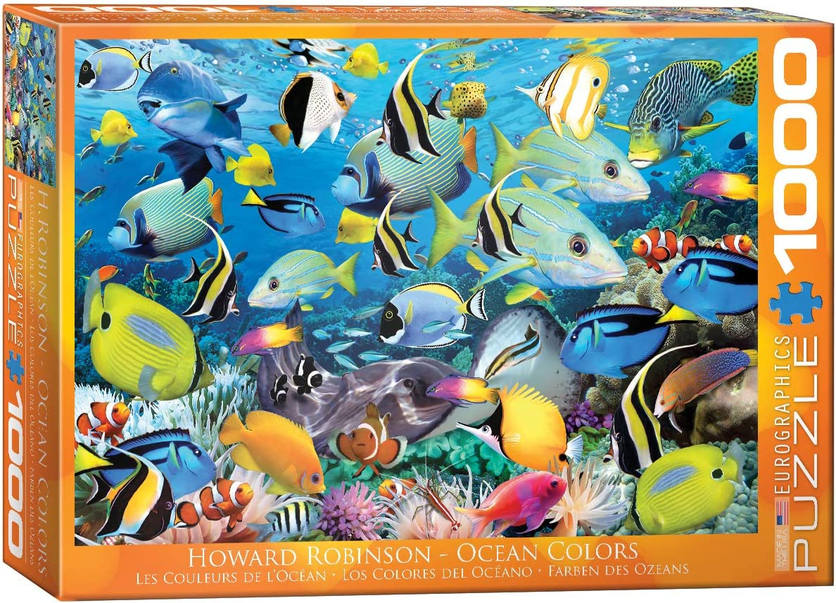 EuroGraphics Ocean Colors Jigsaw Puzzle (1000-Piece)