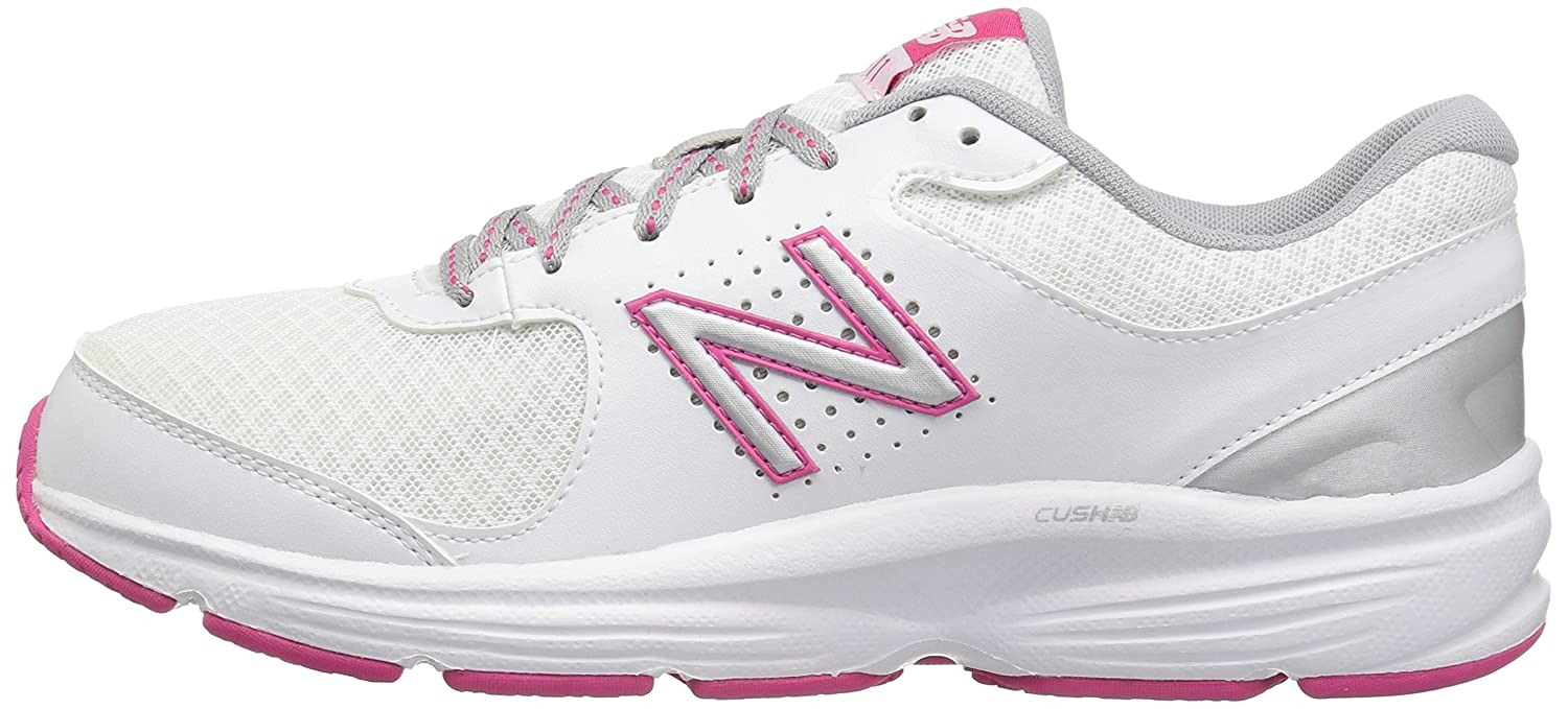 New Balance Women's WW411v2 B(M) Walking Shoe B00V3QTCF4 9 B(M) WW411v2 US|White/Pink 46f1f1