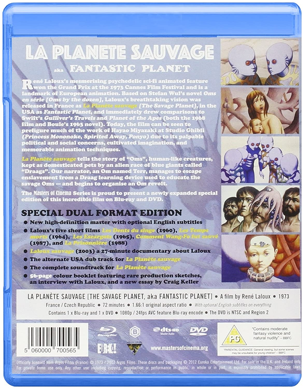 La Planete Sauvage Masters of Cinema Dual Format Edition Blu-ray UK ...