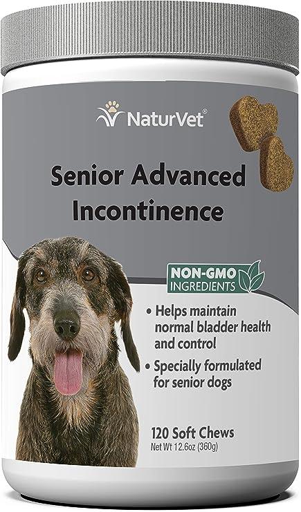 NaturVet – Senior Advanced Incontinence – Helps Maintain Bladder Health & Control