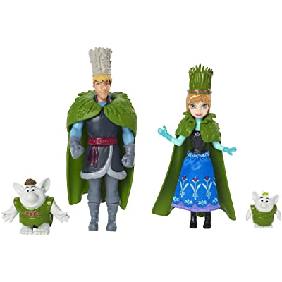 Disney Frozen Anna and Kristoff Doll Wedding Gift Set: Toys & Games