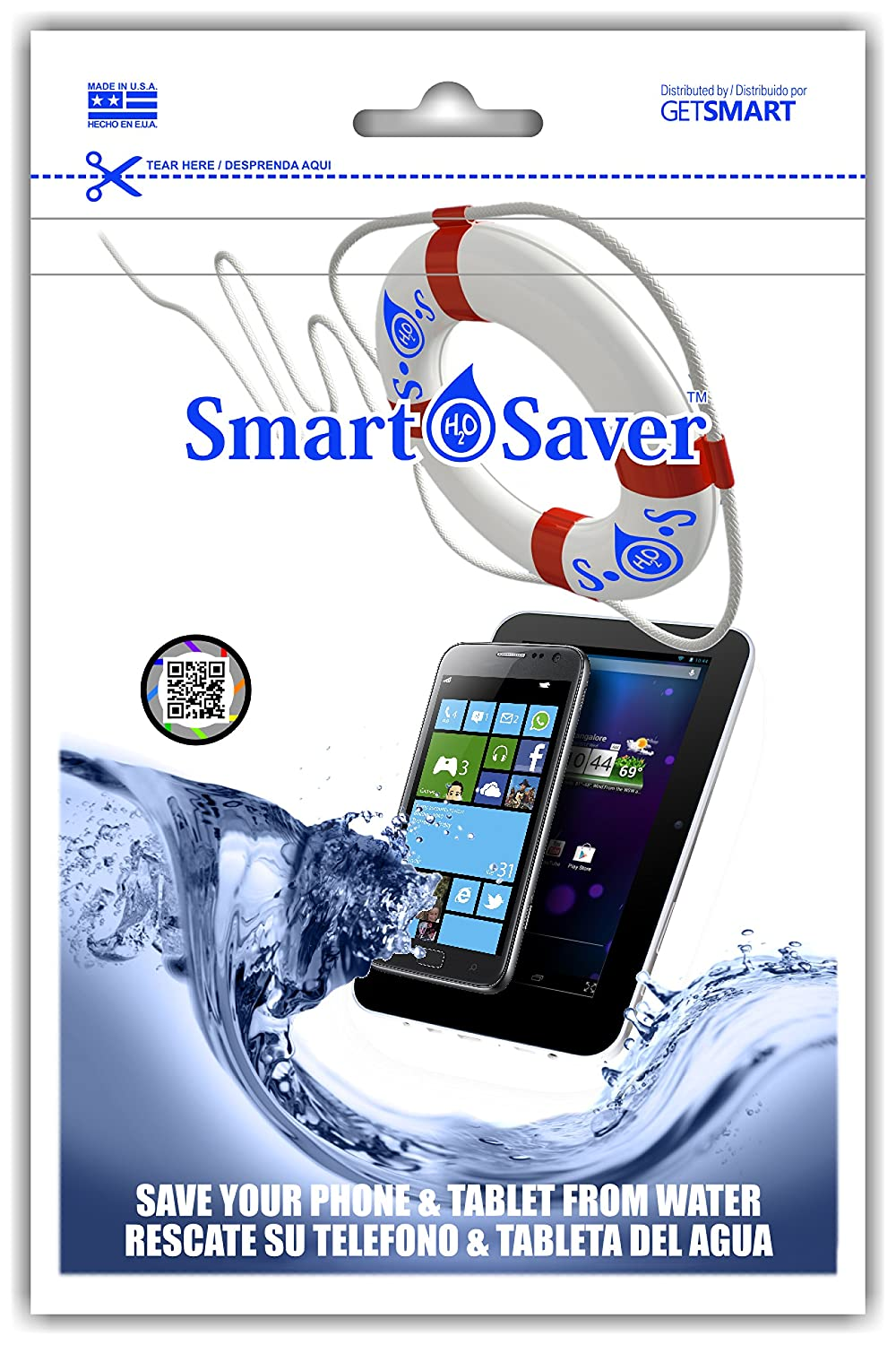 Amazon.com: SmartSaver - Saves Electronic devices after immersion in water: Cell Phones & Accessories