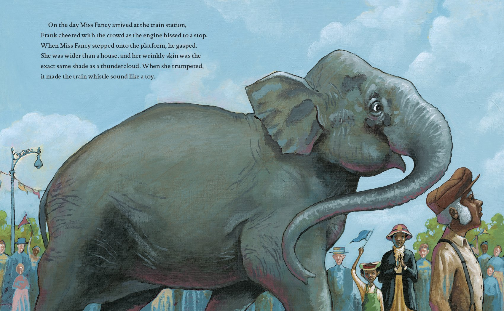 Meet the Elephant: A 15-Minute Book for Early Readers (Meet the Animals 32)