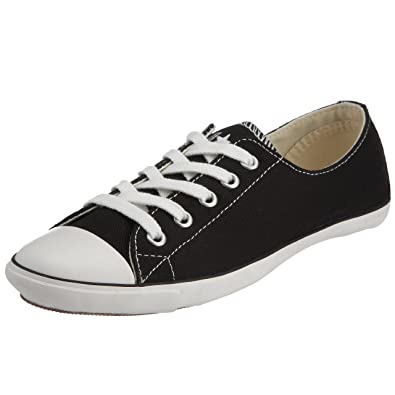 ... cheap converse womens chuck taylor all star light ox lace up black  white 511528 6 ee945 ... 53ad5a410