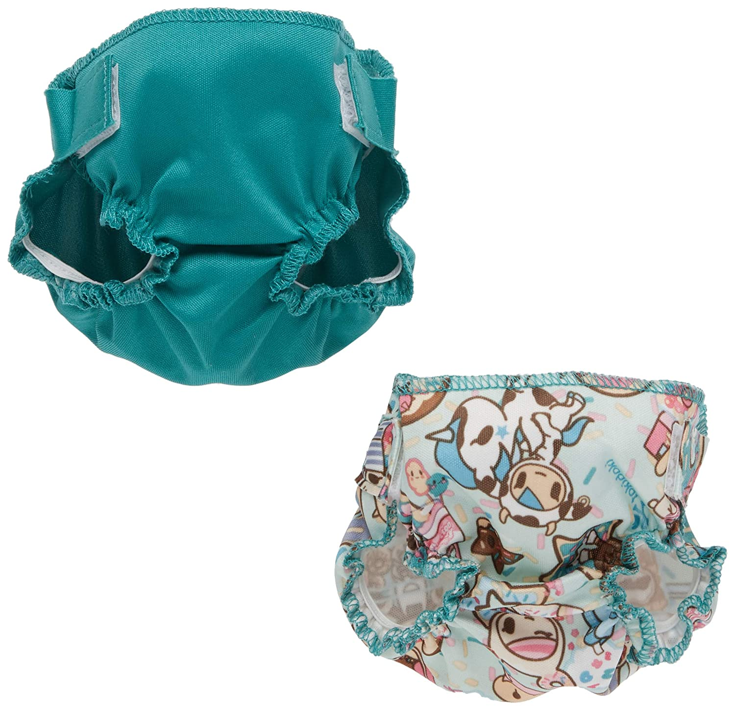 Rumparooz Doll Diaper Set TokiTreats /& Peacock
