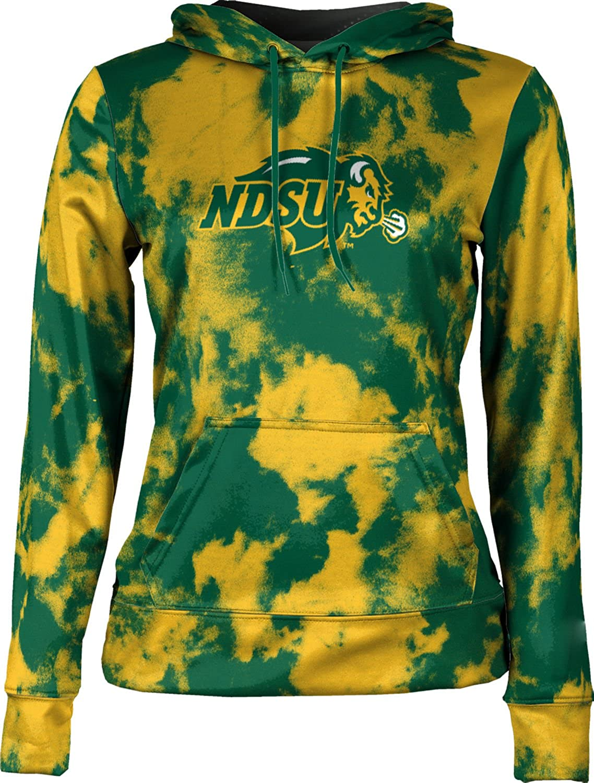 Grunge School Spirit Sweatshirt North Dakota State University Girls Pullover Hoodie