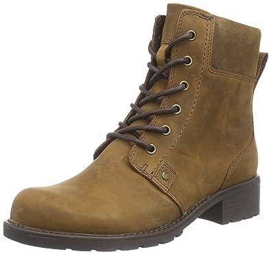 Clarks Damen Orinoco Spice Kurzschaft Stiefel, Braun (Brown Snuff), 35.5 EU c5a53d8468