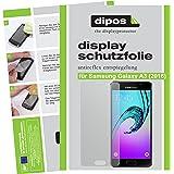 dipos Samsung Galaxy A3 (2016) Schutzfolie (2 Stück) - Antireflex Premium Folie matt