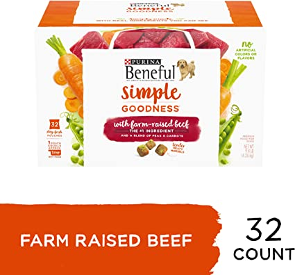 Amazon Com Purina Beneful Dry Dog Food Simple Goodness With Farm