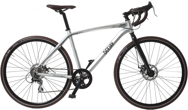Gravel Milano Radio DEEJAY Bicicleta de Montaña alluminio Talla:48 ...