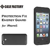 CASE FACTORY iPhone SE / 5s / 5 専用 バッテリーケース PROTECTION FIX ENERGY GUARD 2000mAh ENERGY GUARD ブラック