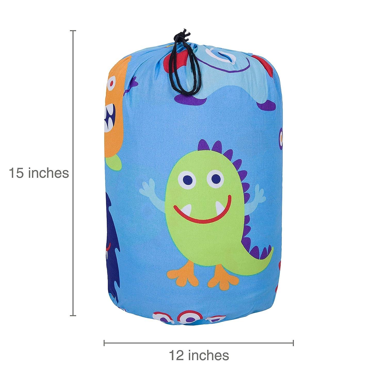 Multicolor One Size Wildkin Microfiber Sleeping Bag