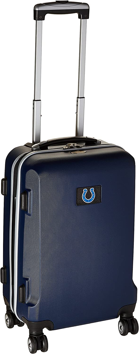 Denco NFL Arizona Cardinals Carry-On Hardcase Spinner Navy