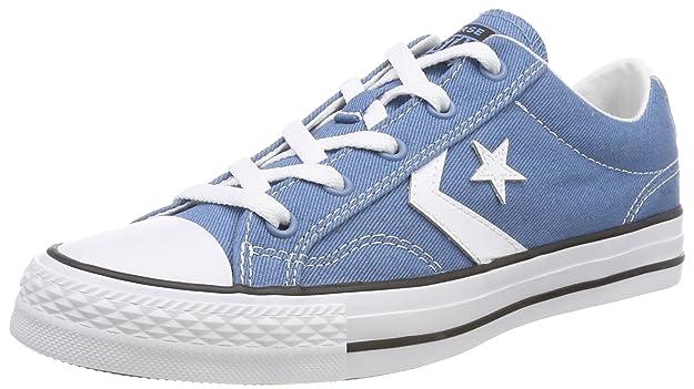 Converse Star Player OX, Zapatillas Unisex Adultos, Azul (Aegean Storm/White/Black 442), 38 EU