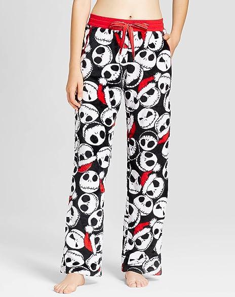l nightmare before christmas lounge sleep pajama pants womens jack skellington