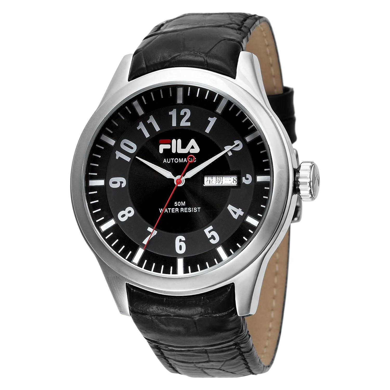 Fila Herren-Armbanduhr Analog Quarz Leder FA0796-02