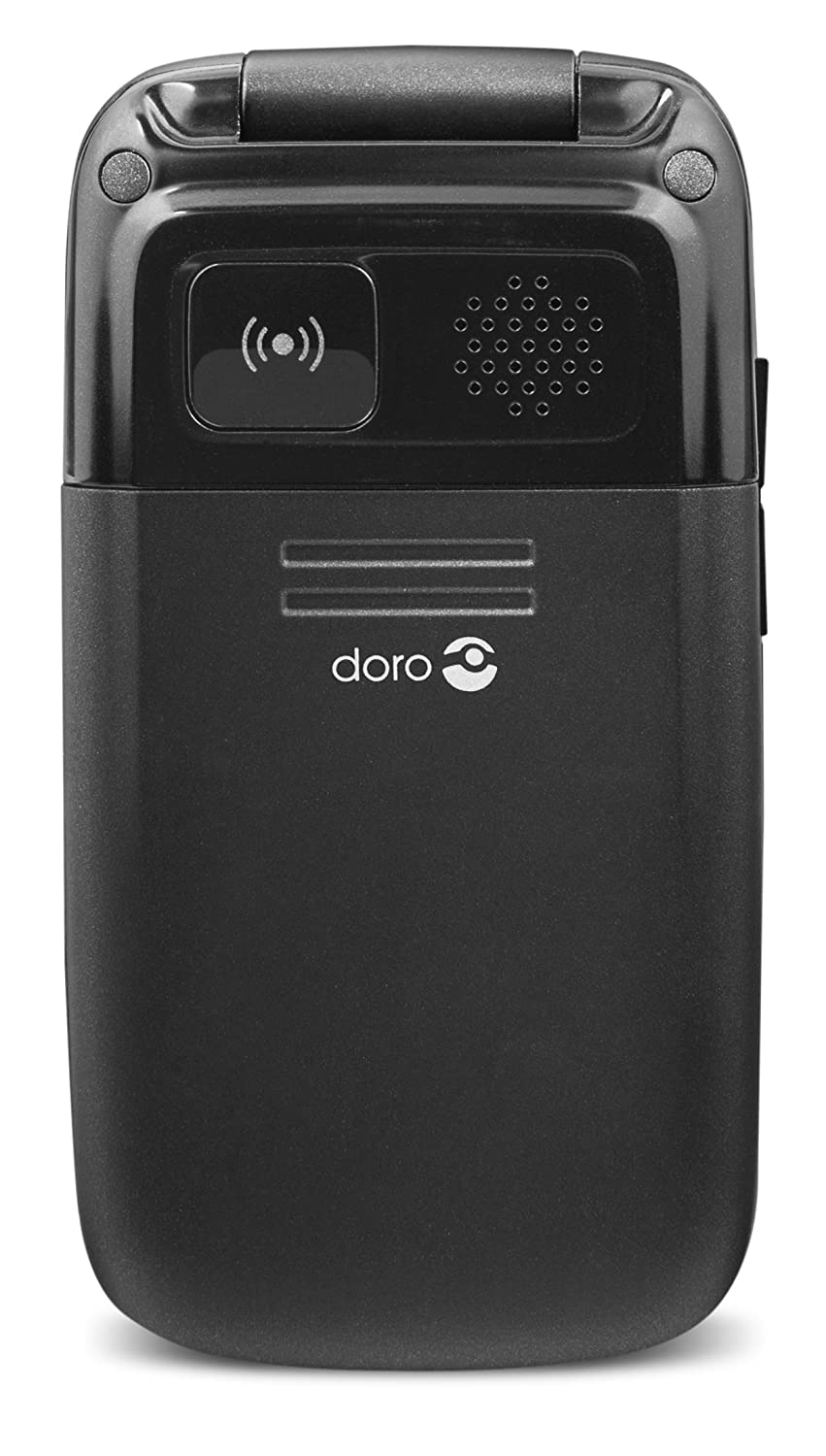 Doro Phoneeasy 612 2g Uk Sim Free Mobile Phone Black Amazon