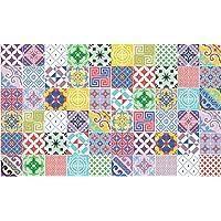 Ambiance-Live - 60Pegatinas Adhesivas para Azulejos, Estilo Mosaico