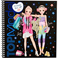 Depesche 10452 TOPModel Dress Me Up Livre d'autocollants Multicolore
