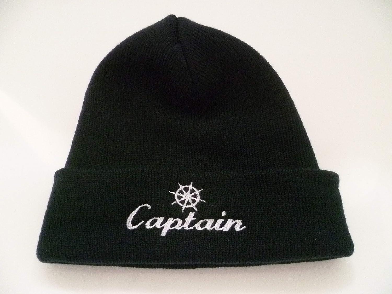 DelmarNautical Captains Captains Bonnet Ancre pour Bateau Bleu Marine