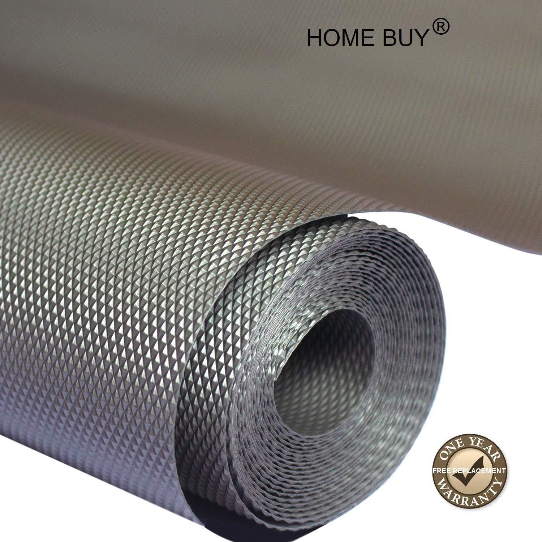 HOME BUY Multipurpose Useful Anti-Slip Mat Size 45X500cm (5 Meter Roll, Grey) Anti Slip Grip Mat, Non Slip Liner, Skid Resistant Mat product image