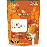 Navitas Organics Turmeric Powder, 8oz. Pouch, 45 Servings — Organic, Non-GMO, Gluten-Free