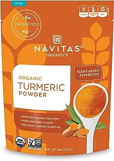product image for Navitas Organics Turmeric Powder, 8oz. Pouch, 45 Servings — Organic, Non-GMO, Gluten-Free