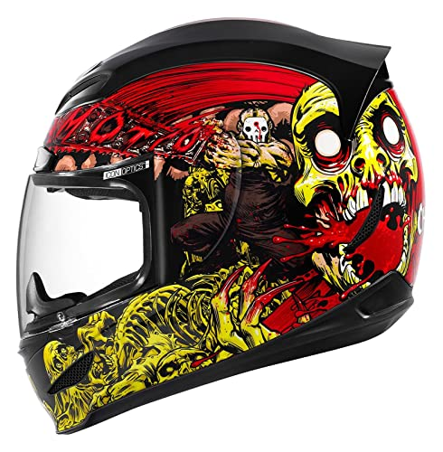 icon airmada motorcycle helmet custom paint