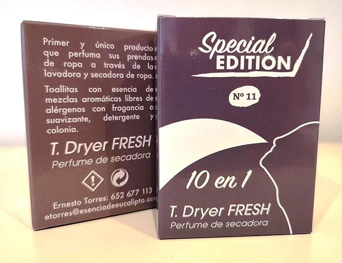 T.Dryer Fresh Parfum for tumble dryer, Perfume de Secadora.: Amazon.es: Salud y cuidado personal