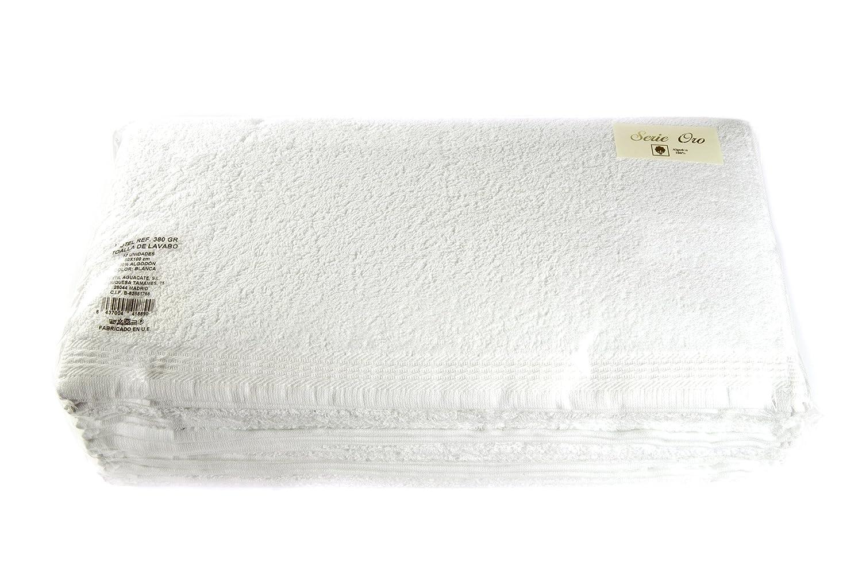 I LIKE Pack 12 uds Toalla 380 gsm Color Kiwi 30 x 50 BIDE 100/% ALGOD/ÓN