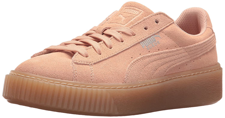 the latest fc68a 8813e PUMA Suede Platform Jewel Kids Sneaker