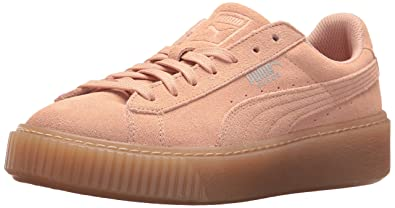 945302ba0fc Amazon.com  PUMA Suede Platform Jewel Kids Sneaker  Shoes
