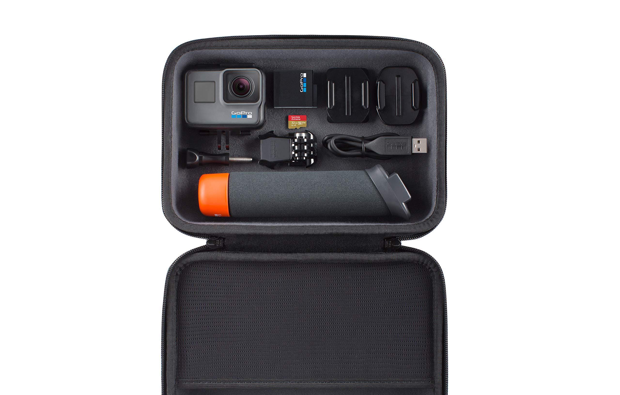 GoPro HERO6 Black + SanDisk 32GB Extreme SD Card + GoPro The Handler Floating Grip