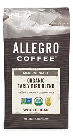 Groovy Allegro Coffee Organic Early Bird Blend Whole Bean Coffee 12 Oz Dailytribune Chair Design For Home Dailytribuneorg