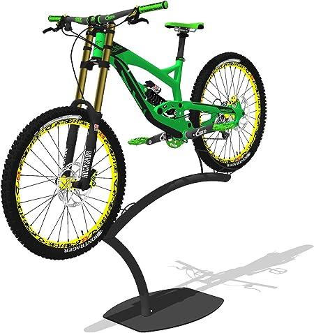 Wall Mount room Bike Bicycle Lift repair Kick Stand Rack Garage Floor Parking
