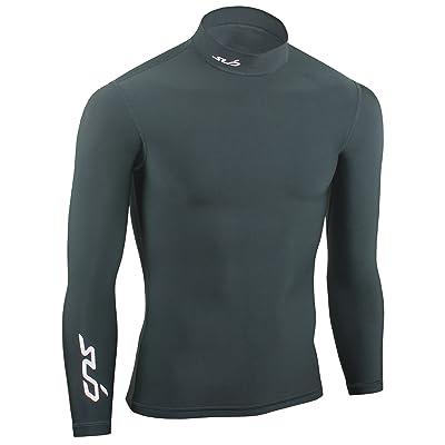 Sub Sports Cold T-Shirt de compression thermique manches longues col roulé Garçon Bleu