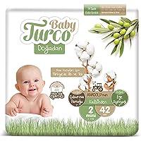Baby Turco Doğadan Bebek Bezi, 2 Beden, 42 Adet