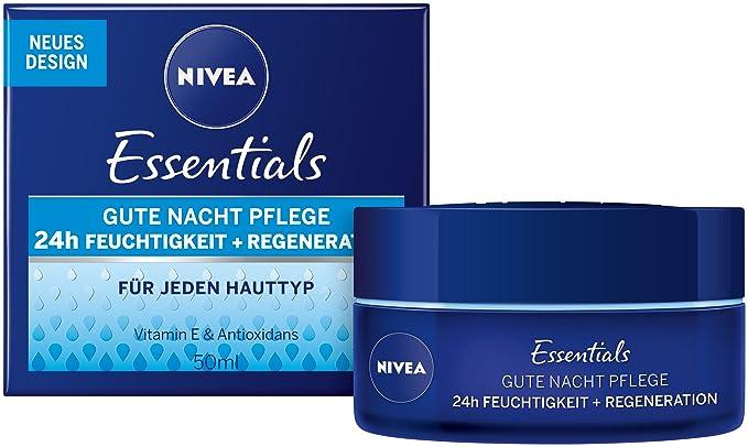 1 opinioni per Nivea Visage, Crema notte rigenerante, 50 ml, 2 x 0,05 l