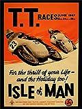 ADVERT TRANSPORT TT RACES BIKES ISLE OF MAN TT RACES 1967 POSTER PRINT 18x24 INCH LV277