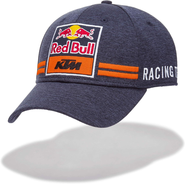 Red Bull KTM New Era 9Forty KTM Gorra, Azul Unisexo Talla única Cap, KTM Racing Team Original Ropa & Accesorios